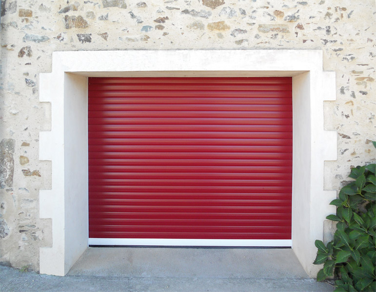 Portes de garage alu glass for Porte de garage a enroulement