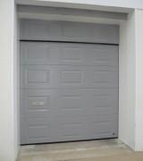 Porte de garage acier St Yrieix (RAL 7004)