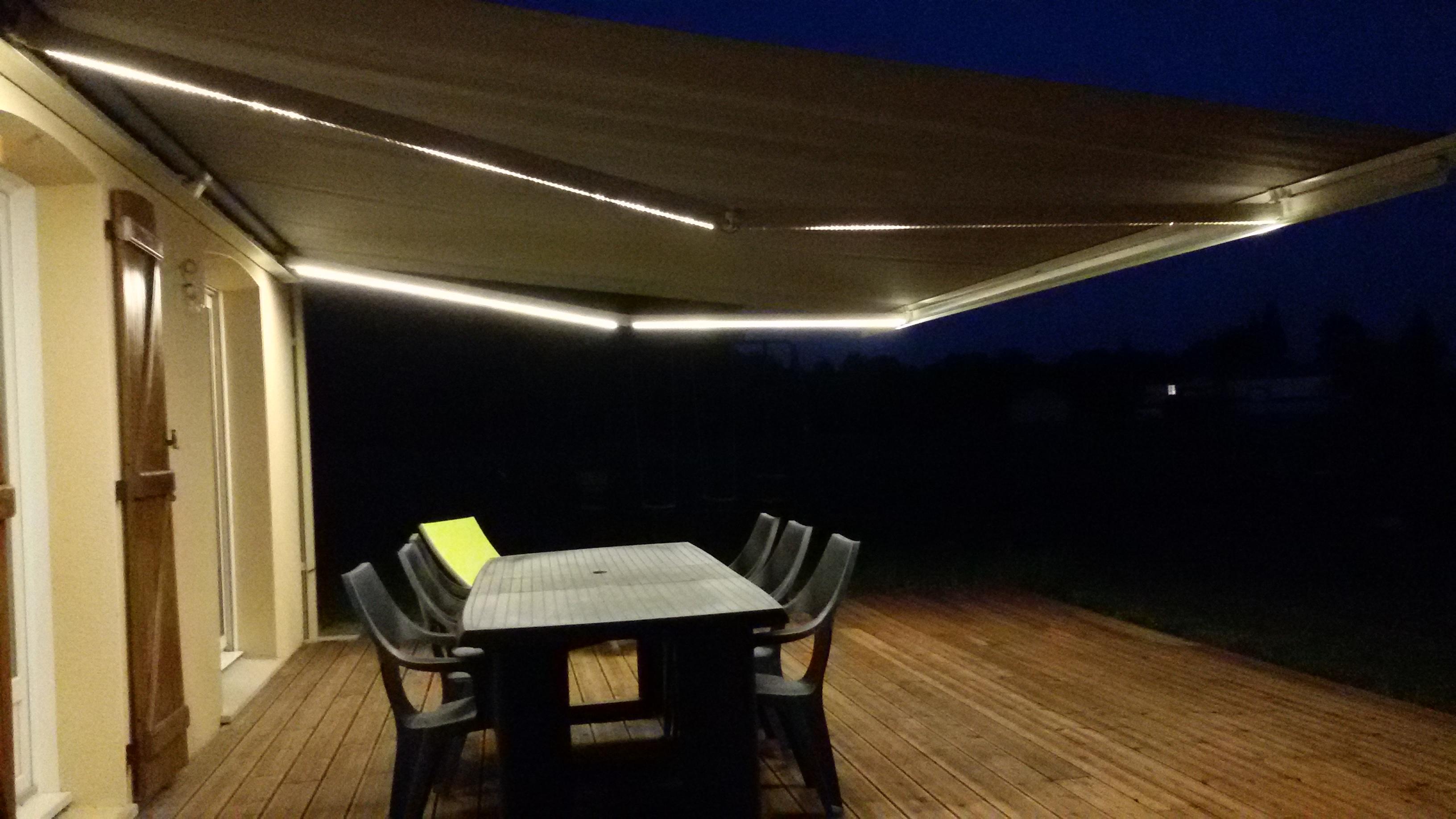 corfou ambiance avec leds alu glass. Black Bedroom Furniture Sets. Home Design Ideas
