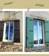 Avant Après fenêtre